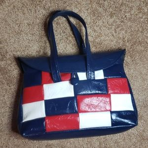 Handbags - Vintage Patriotic Patchwork Purse